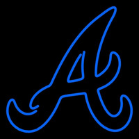 Atlanta Braves Alternate 1987 Pres Logo MLB Neon Sign Neon Sign