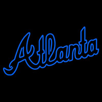 Atlanta Braves Alternate Wordmark 1981 1986 Logo MLB Neon Sign Neon Sign
