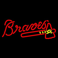 Atlanta Braves MLB Neon Sign Neon Sign