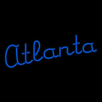 Atlanta Braves Wordmark 1976 1979 Pres Logo MLB Neon Sign Neon Sign