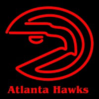 Atlanta Hawks Primary Logo NBA Neon Sign Neon Sign