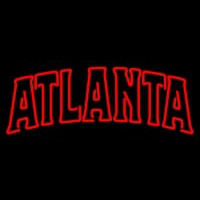 Atlanta Hawks Wordmark Pres Logo NBA Neon Sign Neon Sign