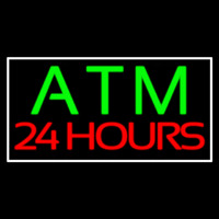 Atm 24 Hrs 2 Neon Sign