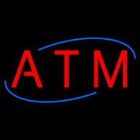 Atm Deco Style Neon Sign