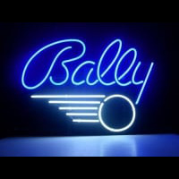 BALLY PINBALL GAME Neon Sign
