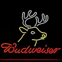 BUDWEISER BUSCH DEER Neon Sign