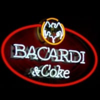 Bacardi And Coke Neon Sign Neon Sign