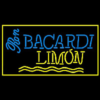 Bacardi Limon Rum Sign Neon Sign