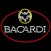 Bacardi Oval Rum Sign Neon Sign