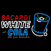 Bacardi White And Coke Rum Sign Neon Sign
