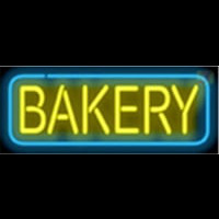 Bakery Coffee Themed Neon Sign