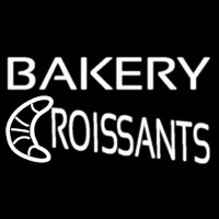Bakery Croissants Neon Sign