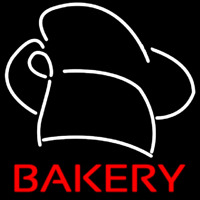 Bakery Hat Neon Sign