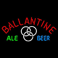 Ballantine Ale White Beer Neon Sign