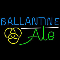 Ballantine Ale Yellow Beer Neon Sign