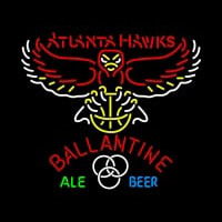 Ballantine Atlanta Hawks NBA Neon Beer Sign Neon Sign