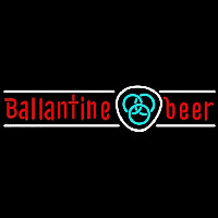 Ballantine Blue Logo Beer Sign Neon Sign
