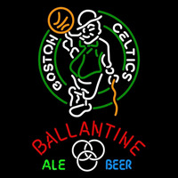 Ballantine Boston Celtics NBA Beer Sign Neon Sign