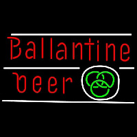 Ballantine Green Logo Beer Neon Sign