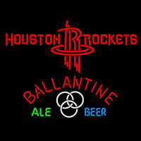 Ballantine Houston Rockets NBA Beer Sign Neon Sign
