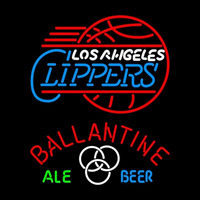 Ballantine Los Angeles Clippers Beer Sign Neon Sign