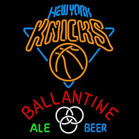 Ballantine New York Knicks Beer Sign Neon Sign