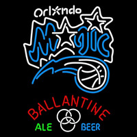 Ballantine Orlando Magic NBA Beer Sign Neon Sign