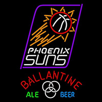Ballantine Phoenix Suns NBA Beer Sign Neon Sign