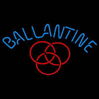 Ballantine Red Logo Beer Neon Sign