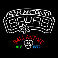 Ballantine San Antonio Spurs NBA Beer Sign Neon Sign