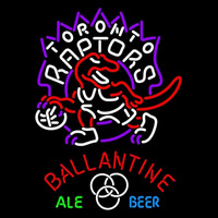 Ballantine Toronto Raptors NBA Beer Sign Neon Sign