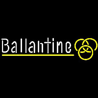 Ballantine Yellow Logo Beer Sign Neon Sign