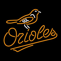 Baltimore Orioles MLB Logo Neon Sign Neon Sign