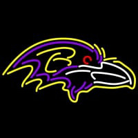Baltimore Ravens NFL Neon Sign Neon Sign