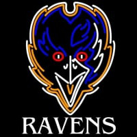 Baltimore Ravens Sound Wave NFL Neon Sign Neon Sign