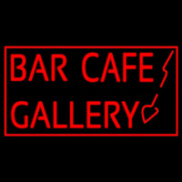 Bar Cafe Gallery Neon Sign