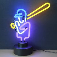 Baseball Desktop Neon Sign
