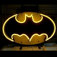 Batman Comic Hero Neon Sign