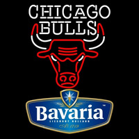 Bavarian Chicago Bulls NBA Beer Sign Neon Sign