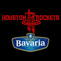 Bavarian Houston Rockets NBA Beer Sign Neon Sign