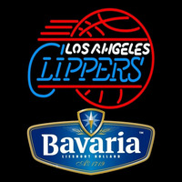 Bavarian Los Angeles Clippers Beer Sign Neon Sign