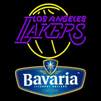 Bavarian Los Angeles Lakers NBA Beer Sign Neon Sign