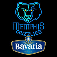 Bavarian Memphis Grizzlies NBA Beer Sign Neon Sign
