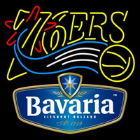 Bavarian Philadelphia 76ers NBA Beer Sign Neon Sign