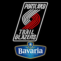 Bavarian Portland Trail Blazers NBA Beer Sign Neon Sign