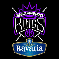 Bavarian Sacramento Kings NBA Beer Sign Neon Sign
