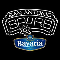 Bavarian San Antonio Spurs NBA Beer Sign Neon Sign