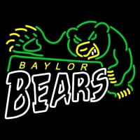 Baylor Bears Primary Logo NCAA Neon Sign Neon Sign