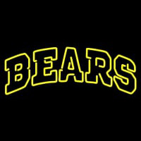 Baylor Bears Wordmark Pres Logo NCAA Neon Sign Neon Sign
