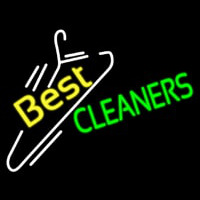 Best Cleaners Neon Sign